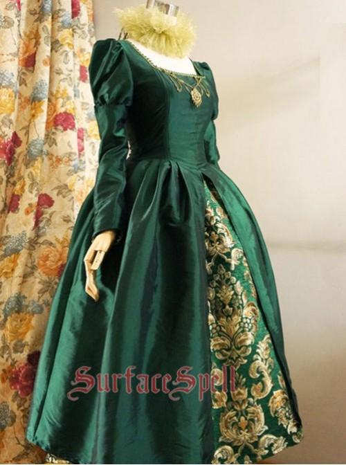 Surface Spell The Other Boleyn Girl One Piece Dress 4 Colors - Custom Sizing