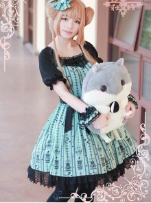 Summer Elegant Classic Lolita Short Sleeve Dress