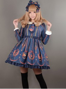 Elizabeth's Coronation~ Sailor Collar Lolita OP Dress -In Stock