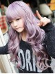 Sweet Purple to Rosy Brown Long Curls Lolita Wig