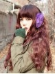 Sweet Brown Lolita Long Curls Wig