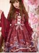 Blue Enchantress Series JSK Gorgeous Classic Lolita Sling Dress
