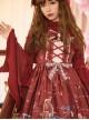 Little Rose Series Elegant Gorgeous Stand Collar Classic Lolita Long Sleeve Shirt