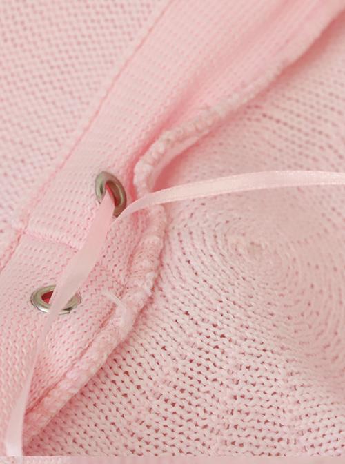 Detachable Heart Decoration Summer Style Breathable Sweet Lolita Beret