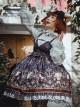 Bunnies In Pokerland Series JSK Cotton Printing Sweet Lolita Sling Dress