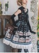Box Theater Series OP Printing Embroidery Normal Waist Doll Collar Classic Lolita Dress