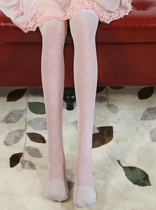 Cardcaptor Sakura Series Printing Sweet Lolita Stockings