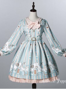 Classical doll to travel it! Mint Lolita OP