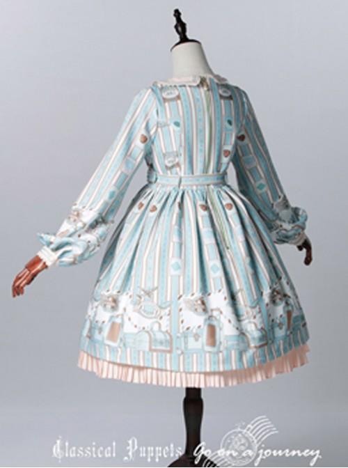 Classical doll to travel it! Mint Lolita OP