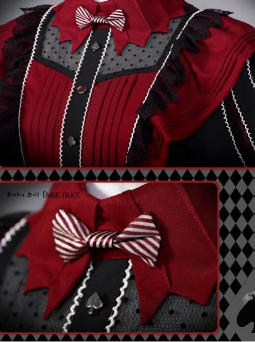 Dark Alice Lolita Black-red 9 fullset