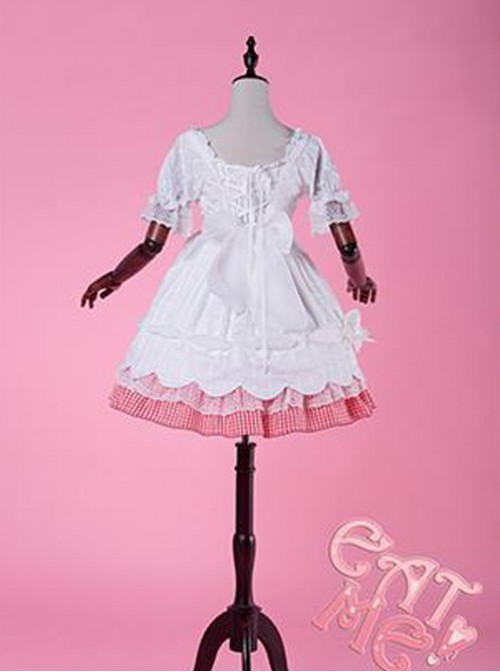 Come eat me! White classical puppet OP Lolita