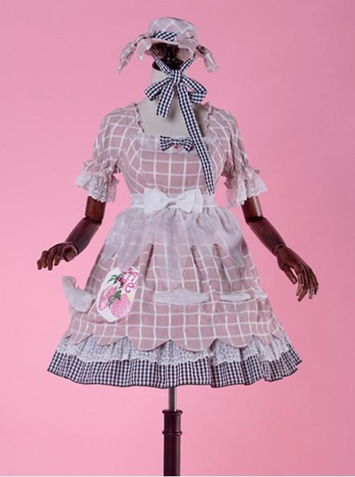 Come eat me! Pink classical puppet OP Lolita
