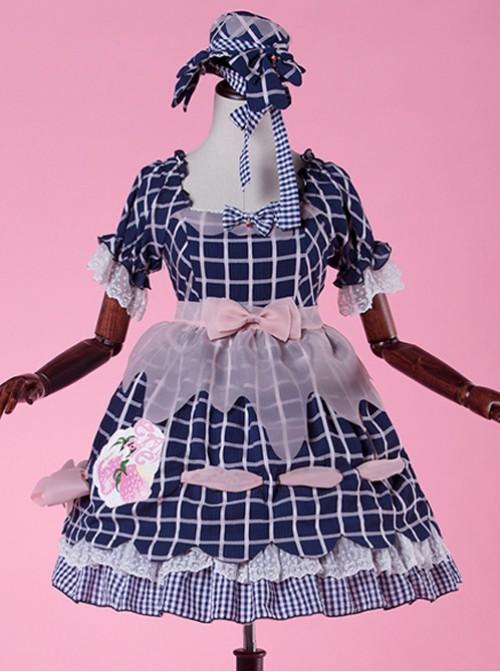 Come eat me! Purple classical puppet OP Lolita