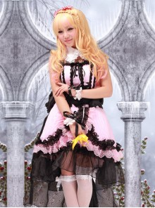 The Super Dimension Fortress Macross Sheryl Anime Lolita Cosplay Costume