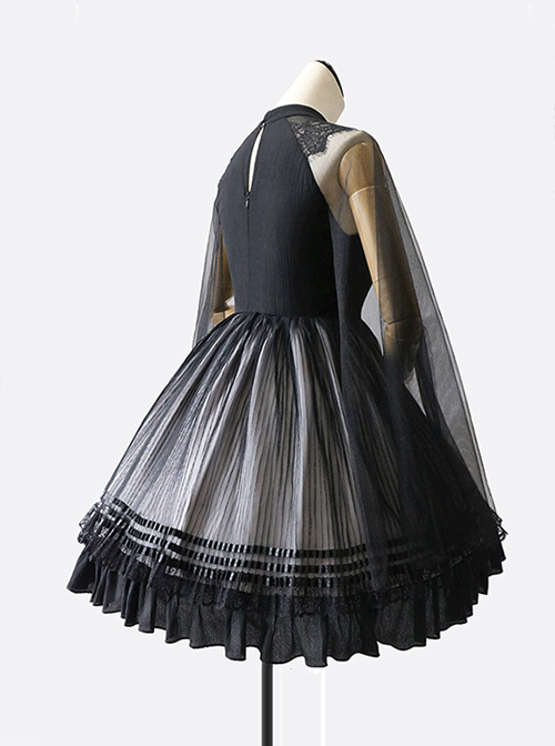 Chinese Style Ink Painting Printing Classic Lolita Dress