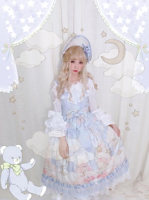 My First Love Series Flower Cake Sweet Lolita Sleeveless Dress Second Version