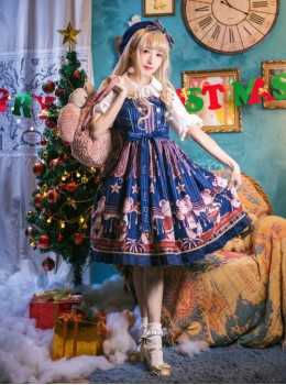 The Royal Bears Band Classic Lolita Sleeveless Dress