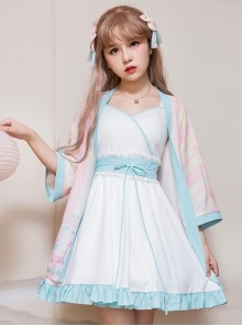Retro Chinese Style Sweet Lolita Dress Set