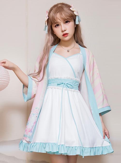 Retro Chinese Style Sweet Lolita Dress Set