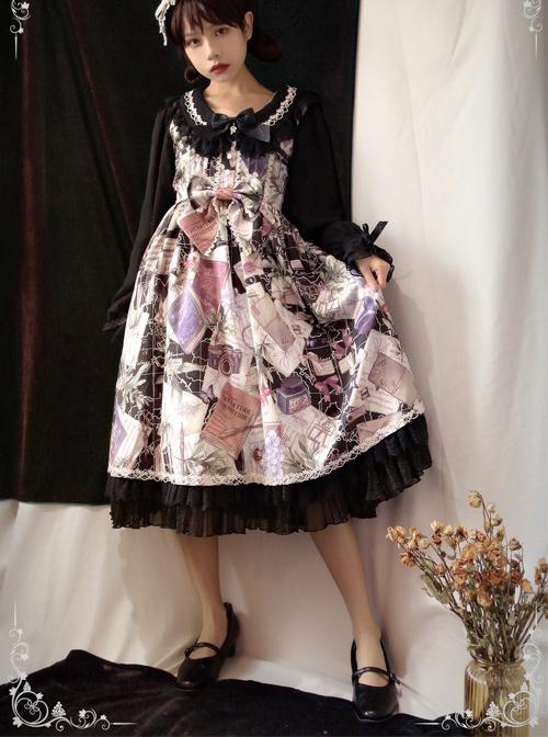 Collect The Traveler Series Classic Lolita Long Sleeve Dress