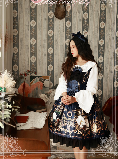 Magic Tea Party Laurel Goddess Series Classic Lolita Sleeveless Dress
