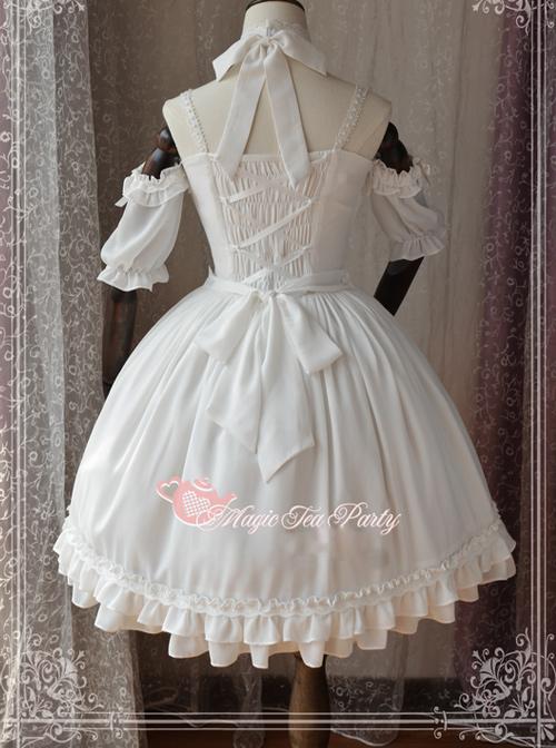 Magic Tea Party Ballet Style Series 2 Ways Of Classic Lolita Sling Dress