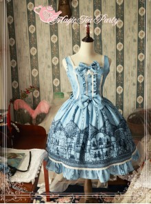 Magic Tea Party Western Style Dress Workshop Series Classic Lolita Sleeveless Dress