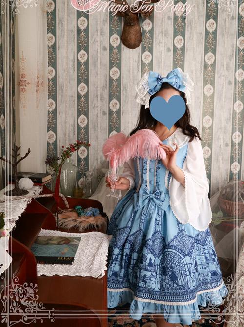 Magic Tea Party Western Style Dress Workshop Series Classic Lolita Sleeveless Dress
