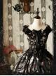 Magic Tea Party Seven Crimes Series Printing Classic Lolita Sleeveless Dress
