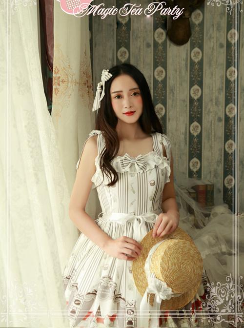 Magic Tea Party Bremen Town's Musician Series Classic Lolita Sling Dress