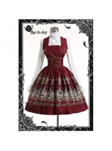 Magic Tea Party Starry Sky Series Classic Lolita Sleeveless Dress