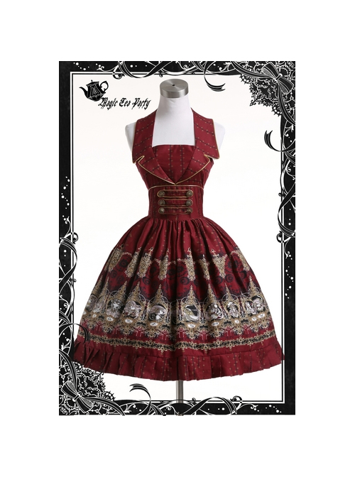Magic Tea Party Starry Sky Series Classic Lolita Sleeveless Dress