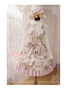 Magic Tea Party Spring Dance Series Sweet Lolita Sling Dress