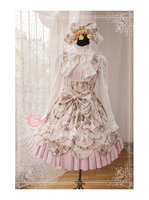 Magic Tea Party Spring Dance Series Sweet Lolita Sling Dress