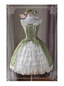 Magic Tea Party Aideli Series Palace Style Classic Lolita Sleeveless Dress