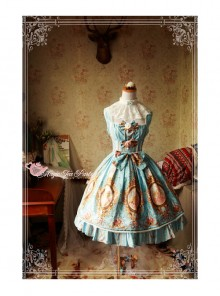 Magic Tea Party Europa's Spring Series Classic Lolita Sleeveless Dress