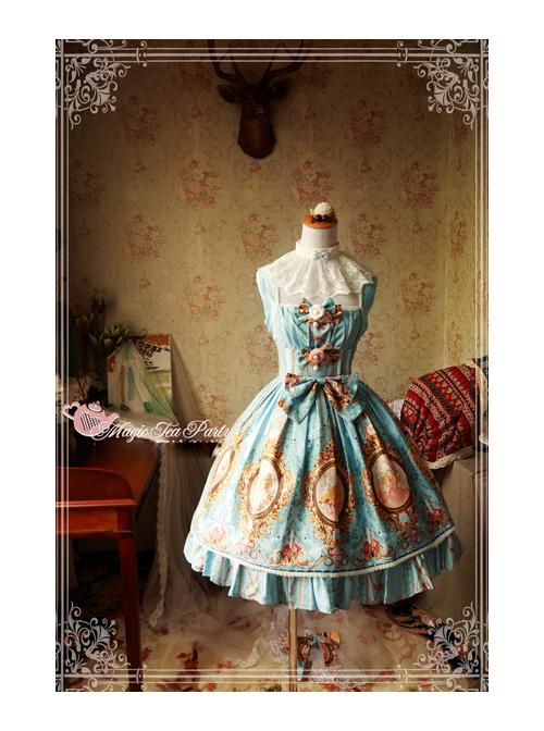 Magic Tea Party Europa's Spring Series Classic Lolita Sleeveless Dress