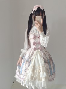 Japanese Traveller's Anthem Sweet Lolita Sling Dress