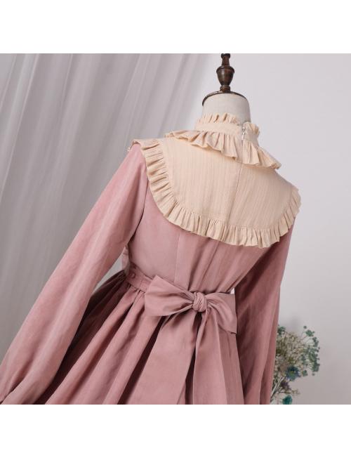 Lace Long Sleeves Bowknot Sweet Lolita Dress