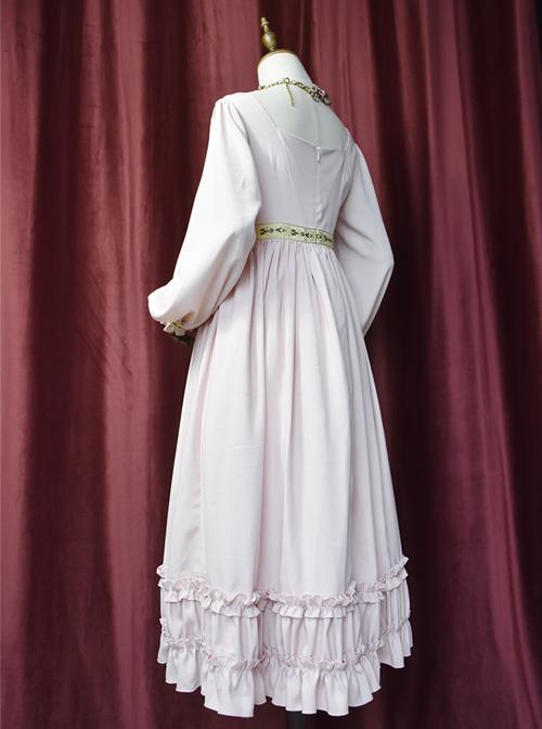 Emma Series Retro Elegant Classic Lolita Long Sleeve Long Dress