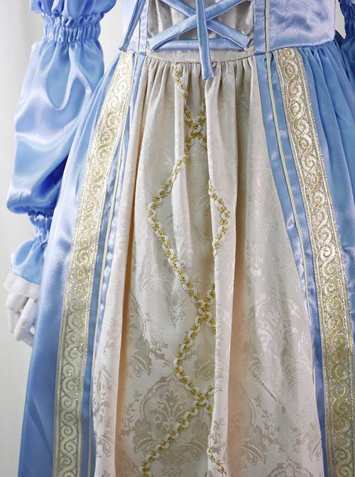 Lucrezia Series Retro Classic Lolita Long Sleeve Long Dress
