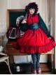 Retro Fairy Tale Style Gothic Lolita Sleeveless Dress