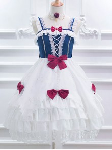 Snow White Series Classic Lolita Sling Dress