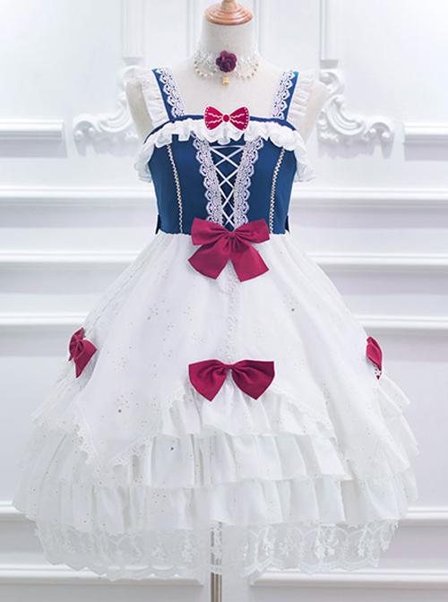 Snow White Series Classic Lolita Sling Dress