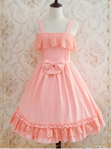 Strawberry Witch Late Summer Concerto Lolita Sling Dress