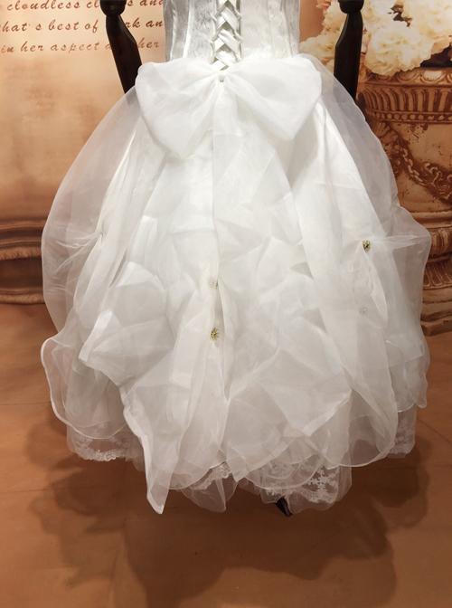 Elizabeth Diamond Star Light Gold Classic Lolita Dress