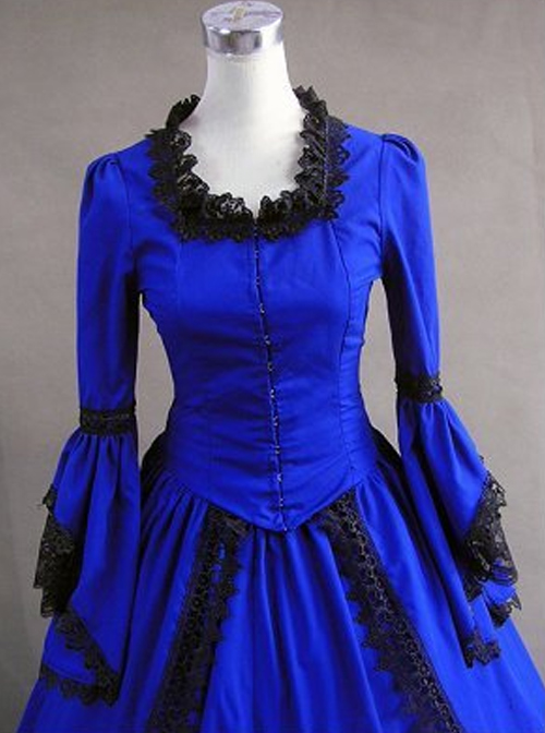 Palace Style Gorgeous Lace Edge Lolita Prom Dress