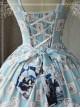 Magic Tea Party War Of Thrones Series Printing Classic Lolita Sling Dress Version 1