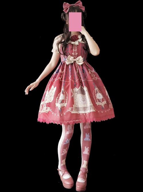 The Heavenly Kingdom's Bell Series Classic Lolita Sling Dress