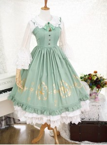 Alice in Wonderland Series JSK Classic Lolita Sling Dress